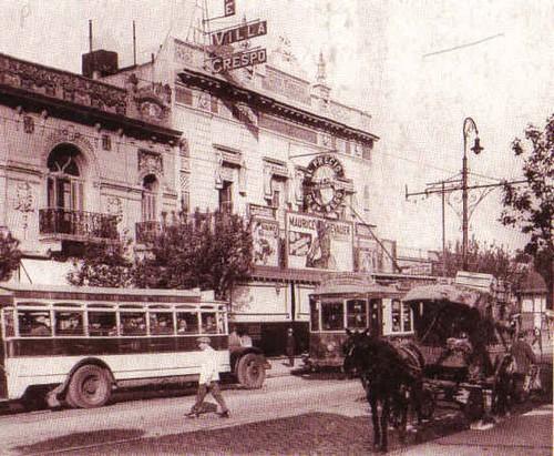 Villa Crespo, historico barrio de Buenos Aires, donde ha nacido Juan Gelman - Foto del 1940