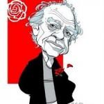 """José Luis Mangieri y detrás """"su"""" Rosa blindada"""